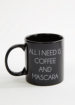 Coffee and Mascara Oversized Mug