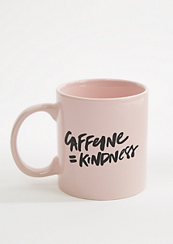 Caffeine Equals Kindness Oversized Mug