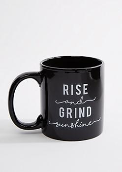 Rise & Grind Oversized Mug