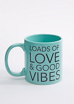 Love & Good Vibes Oversized Mug