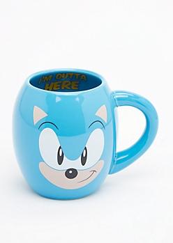 Sonic the Hedgehog Round Mug