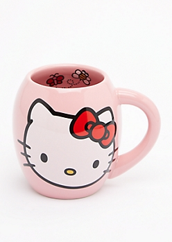 Hello Kitty Round Mug by Sanrio