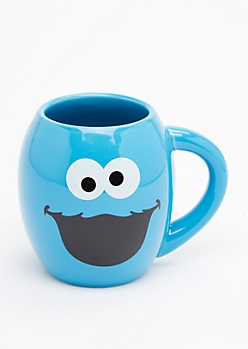 Nom Cookie Monster Round Mug by Sesame Workshop