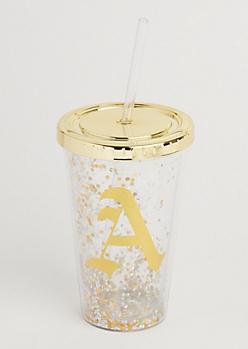 A Glitter Tumbler