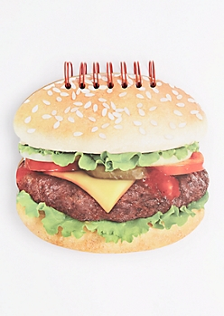 Hamburger Spiral Notebook
