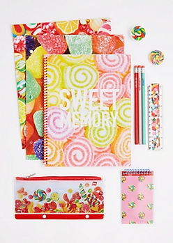 11 Piece Sweet As Candy Stationary Set