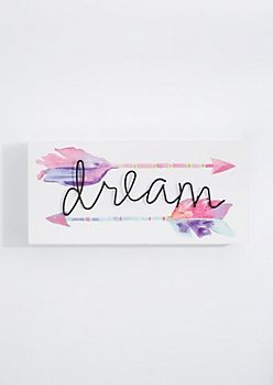 Dream Wireframe Box Wall Art