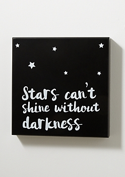 Stars Shine Box Wall Art