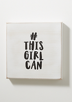 This Girl Can Vintage Box Wall Art