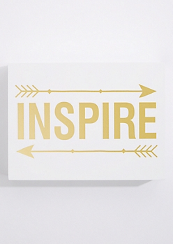 Inspire Box Wall Art