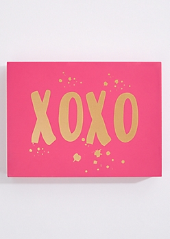 XOXO Box Wall Art