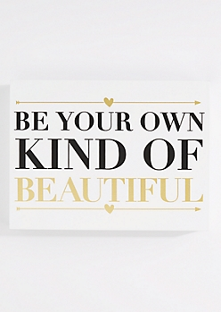Be Your Own Beautiful Box Wall Art