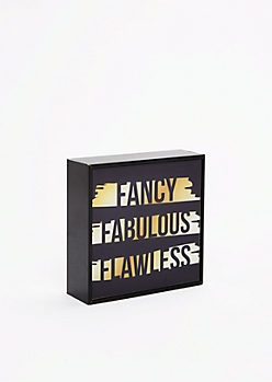 Fancy Fabulous Flawless Mirror Box