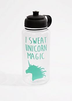 I Sweat Unicorn Magic Sports Bottle