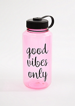 Good Vibes Only Sport Water Bottle