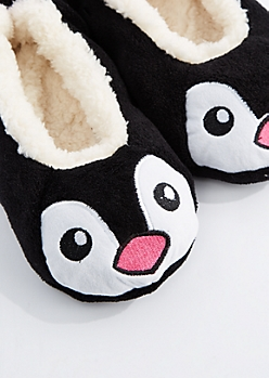 Penguin Sherpa Slippers