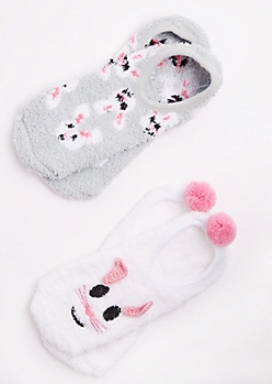 2-Pack Bunny Slipper Sock