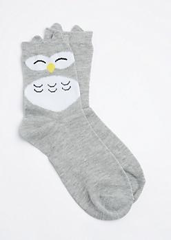 Owl Crew Socks