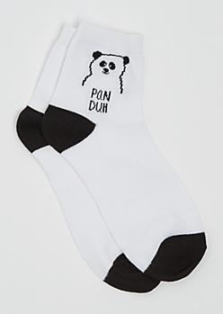 PanDuh Anklet Socks