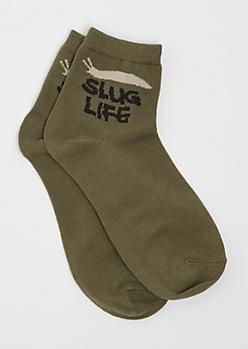 Slug Life Anklet Socks