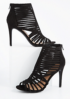Strappy Crisscross Heel By Wild Diva®