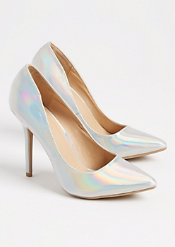 Iridescent Stiletto Heel By Wild Diva