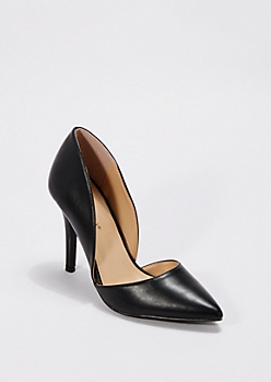 Black Classic D'Orsay Pump By Breckelle'S®