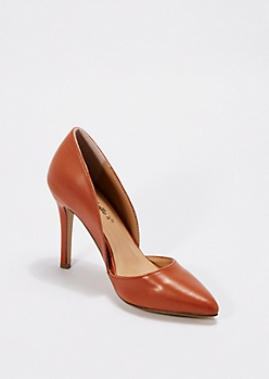 Tan Classic D'Orsay Pump By Breckelle'S®