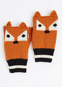 Fox Fingerless Gloves