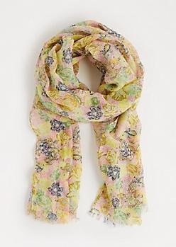 Flower Blossom Fashion Scarf