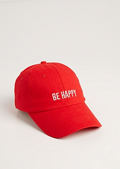Be Happy Dad Hat