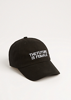 The Future Is Female Dad Hat