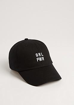 Pink GRL PWR Dad Hat
