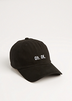 Oh. OK. Dad Hat