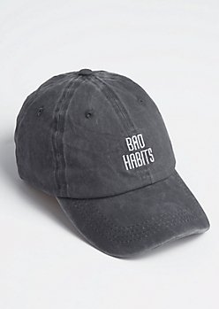 Bad Habits Washed Dad Hat