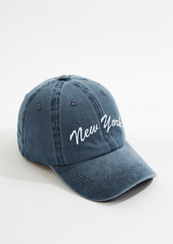 New York Vintage Washed Dad Hat