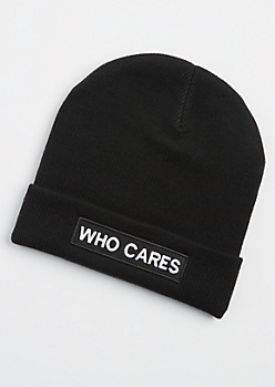 Who Cares Beanie