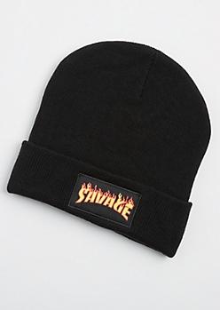 Savage Flames Beanie