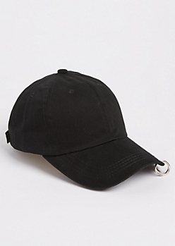 Grommet Ring Dad Hat