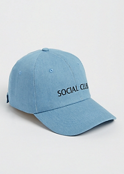 Social Club Denim Dad Hat
