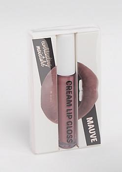 Mauve Cream Lip Gloss