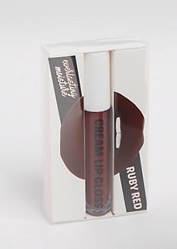 Ruby Red Cream Lip Gloss