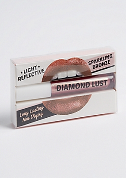 Sparkling Bronze Diamond Lust Lip Gloss