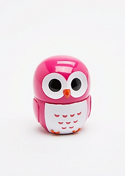 Fuchsia Owl Lip Gloss