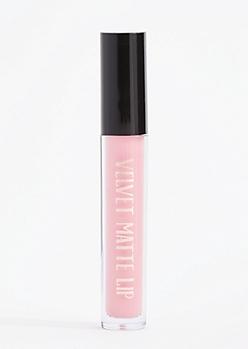 Soft Pink Velvet Matte Lip Color