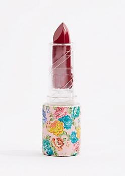 Medium Pink Floral Lipstick
