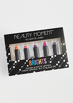 Beauty Moment Brights Lipstick Set By Jacky and Lauren™