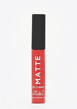 Red Matte Lip Cream