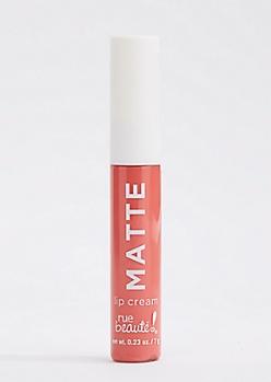 Matte Coral Lip Cream