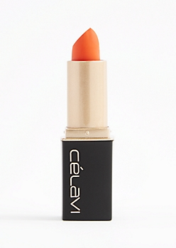 Pacific Medium Orange Matte Lipstick By Celavi